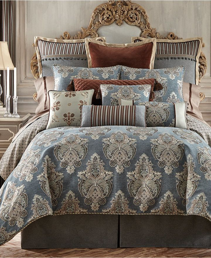 Waterford Hilliard King Duvet Cover Luxury comforter
