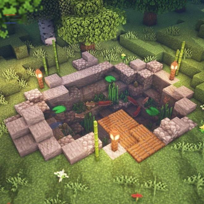 Garden Ideas In Minecraft