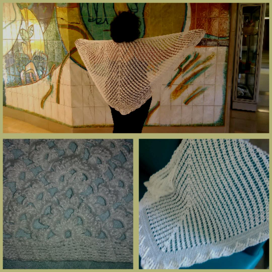 Das mãos da Gracinha!: Xailes em crochet!!! | Blusas e vestidos em ...