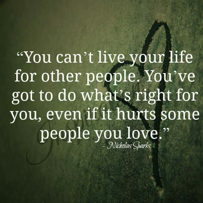Living Your Life