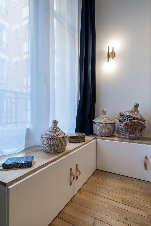 Appartement Paris 20 : un 3 pièces de 60 m2 lumineux