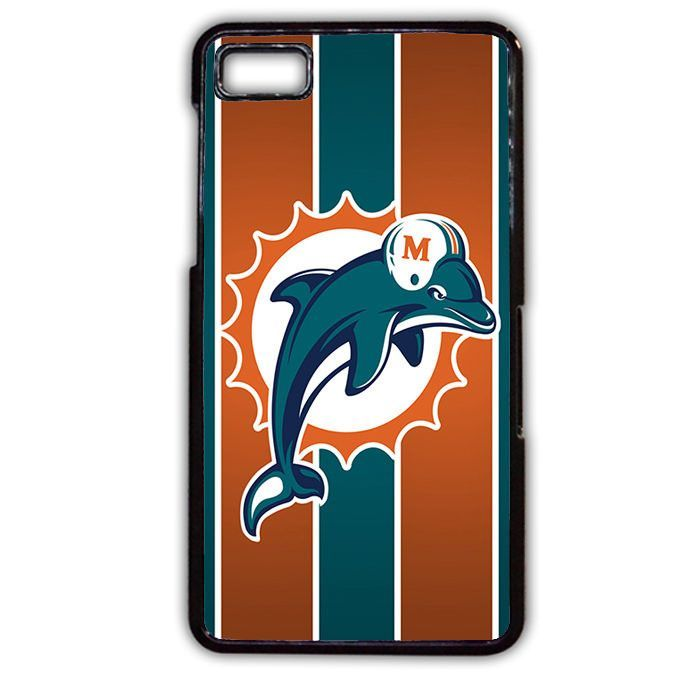 Miami Dolphins TATUM-7113 Blackberry Phonecase Cover For Blackberry Q10, Blackberry Z10