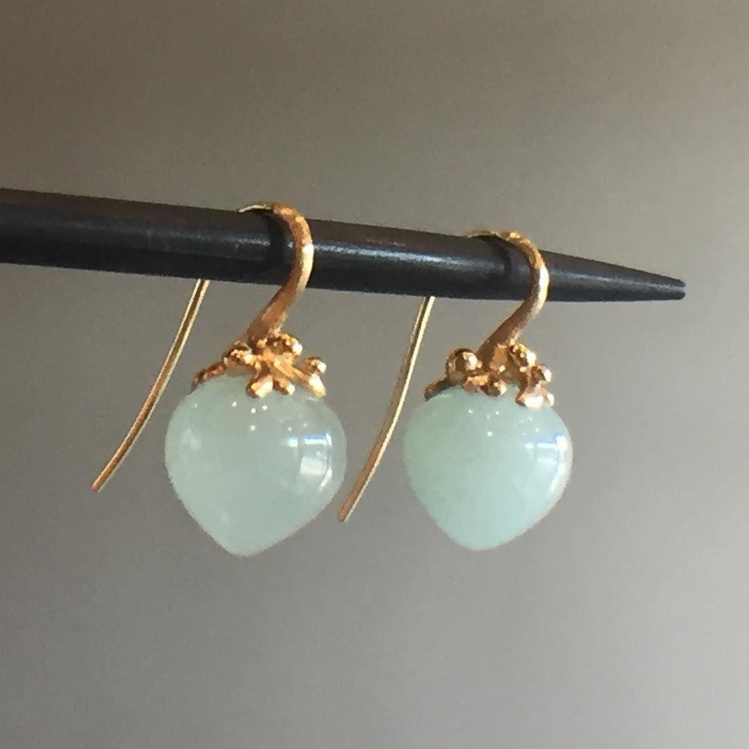 Aquamarine bridesmaid earrings gold teardrop earrings dewdrop earrings