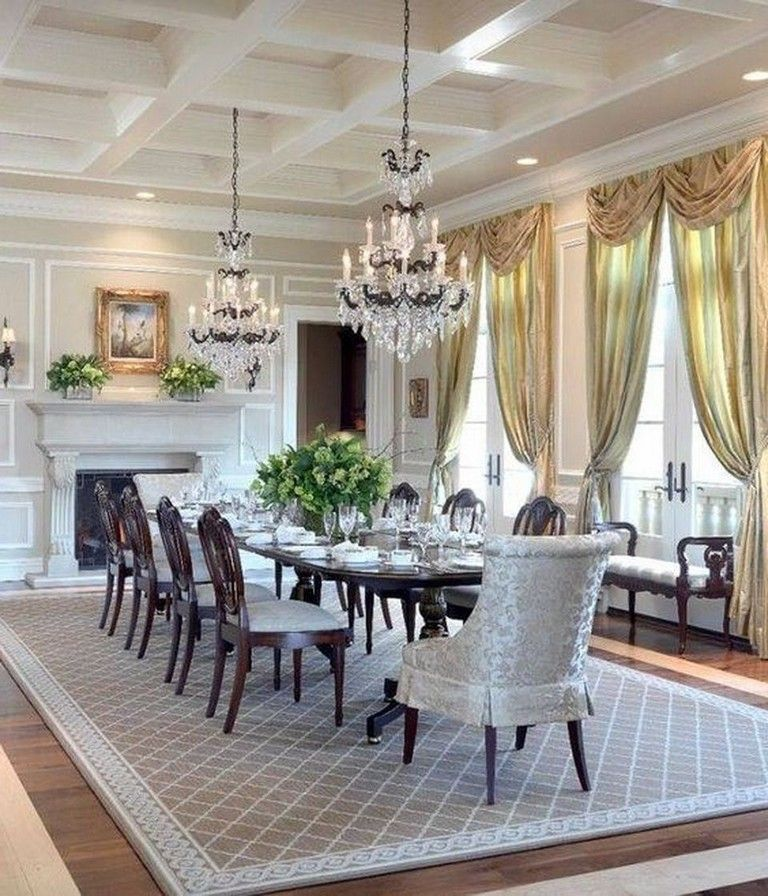 35 Luxury Dining Room Design Ideas: 55 Celebrated And Luxury Western Dining Room Design