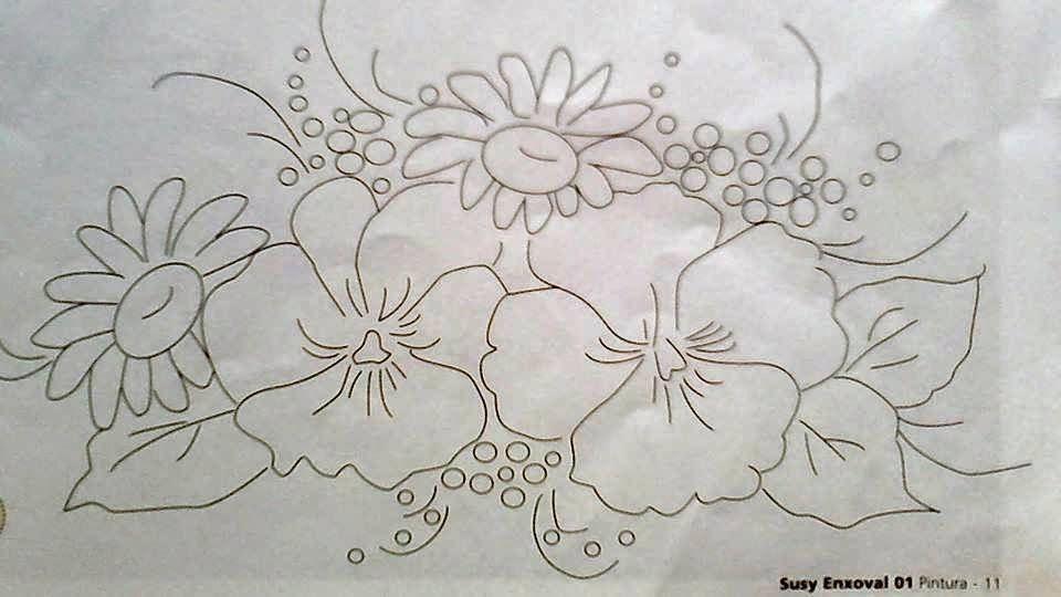 Pintura Em Tecido Pintura Em Tela Riscos E Desenhos Para
