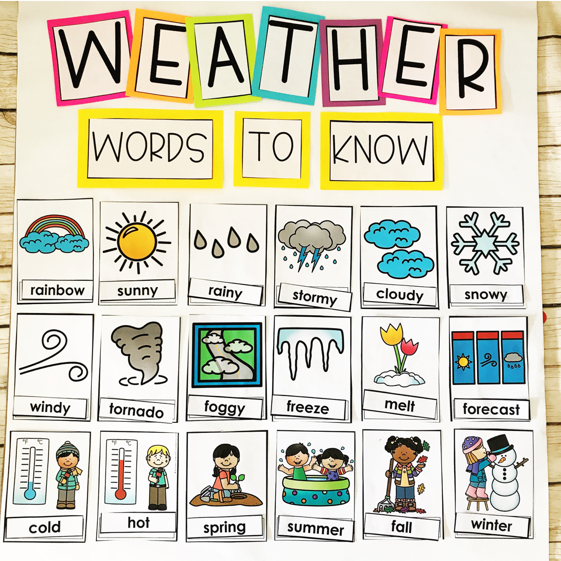 March Weather Made For Me Literacy