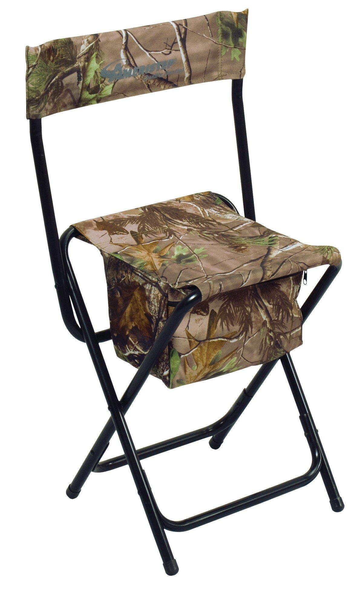 Ameristep Folding Chair HighBack Rt XtraGreen Camo