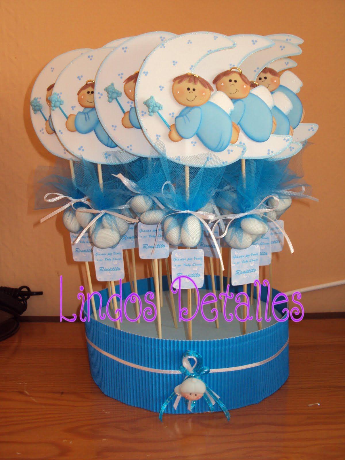 Recuerdos de baby shower Bautizo Leo Pinterest