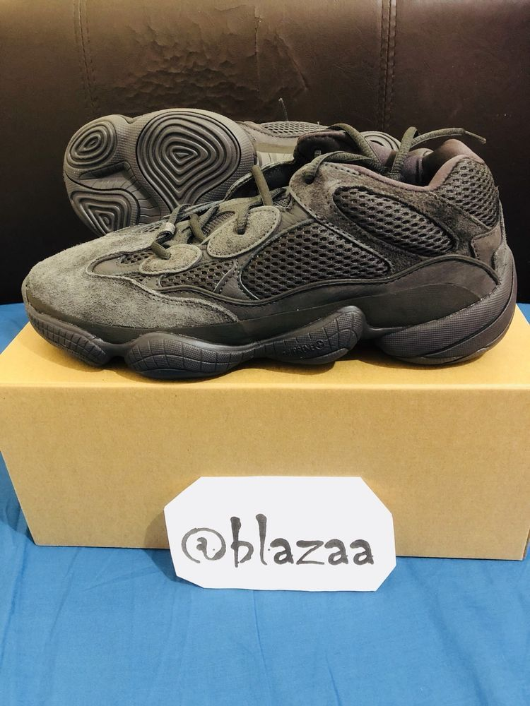 pretty nice 51781 c9d9b Yeezy 500 adidas Utility Black Desert Rat Training Shoes ...