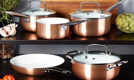 Best 28Cm And 20Cm Cermalon Copper Ceramic Frying Pans Pan 400 x 300
