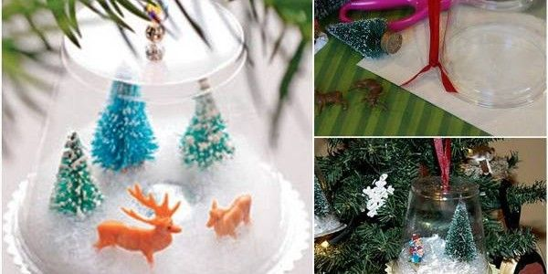 Crystal Clear Plastic Miniatures Ribbon And Creativity