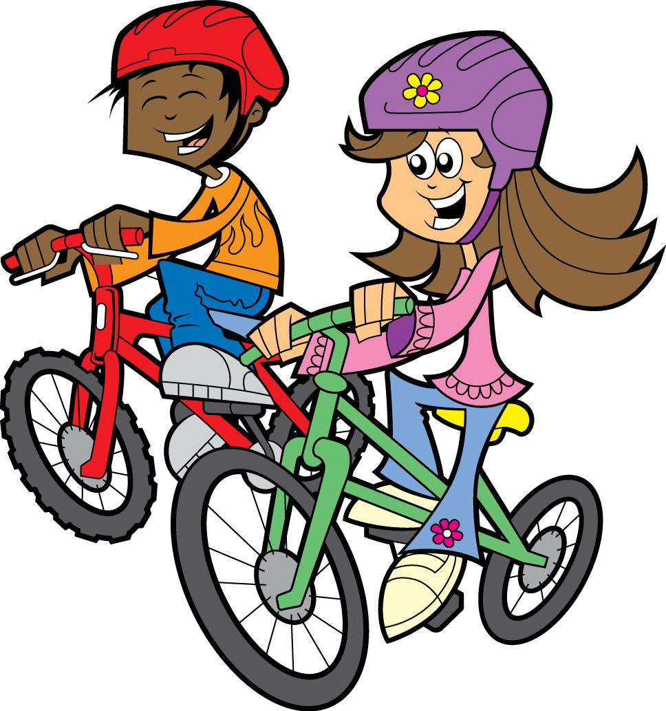 cartoon bike clipart best