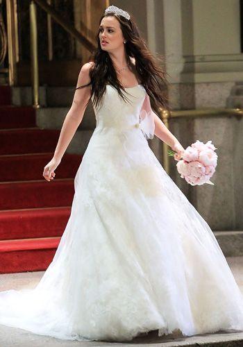 blair waldorf's wedding dress designer is vera wang | gossip girl