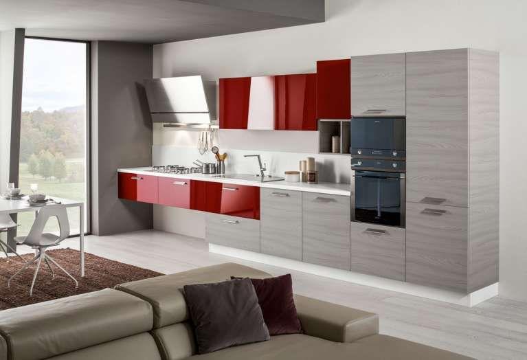 Liberty Arredamento ~ Mobili sospesi in cucina cucina sospesa in legno cucina