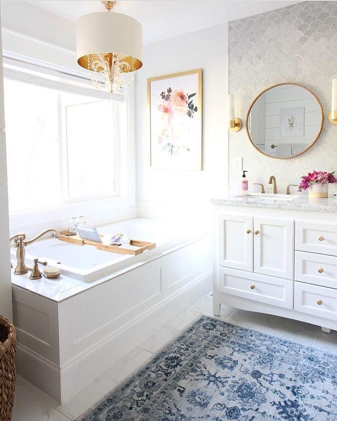 pictures to hang in master bathroom%0A Prescott View Home Reno  Master Bathroom Reveal  Classy Clutter  Modern  Bathroom