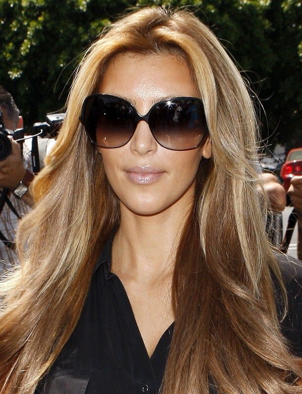 Kim Kardashian New Hair Color Kim Kardashian Has Gone Blonde And