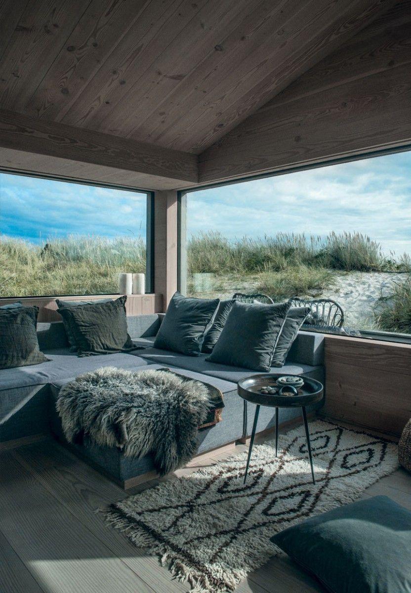 Innenarchitektur für wohnzimmer für kleines haus by the sea anna gillar  dream house  pinterest  haus