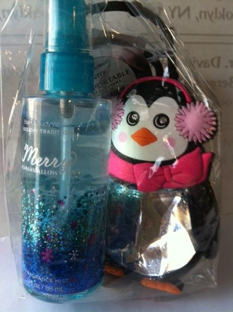 The Favors For A Winter 13 Year Old Birthday Party Body Spray And An