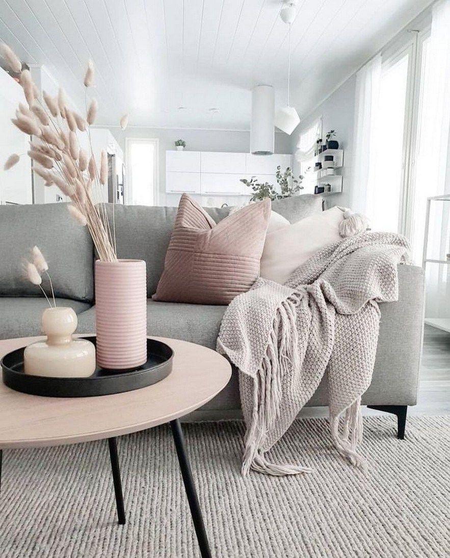 82 Beautiful Grey Living Room Ideas Decorations 59 Interior Design Living Room Decor Gray Living Room Grey Pink Living Room