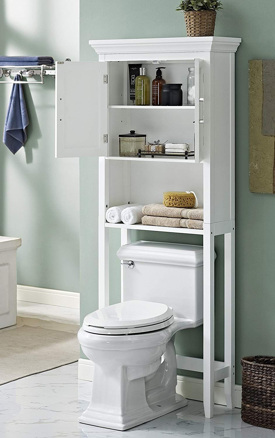 Best Over The Toilet Storage Cabinets Toilet Storage Storage Cabinets Storage Cabinet