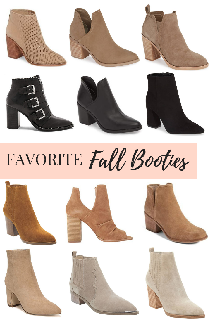 94032a8e6fd One of my favorite fashion accessories for fall is booties! I have rounded  up some of my favorite bootie options! Hope you enjoy!  fallbooties  booties