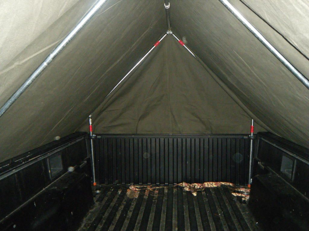 Diy Military Style Truck Bed Tent Under 300 Truck Bed