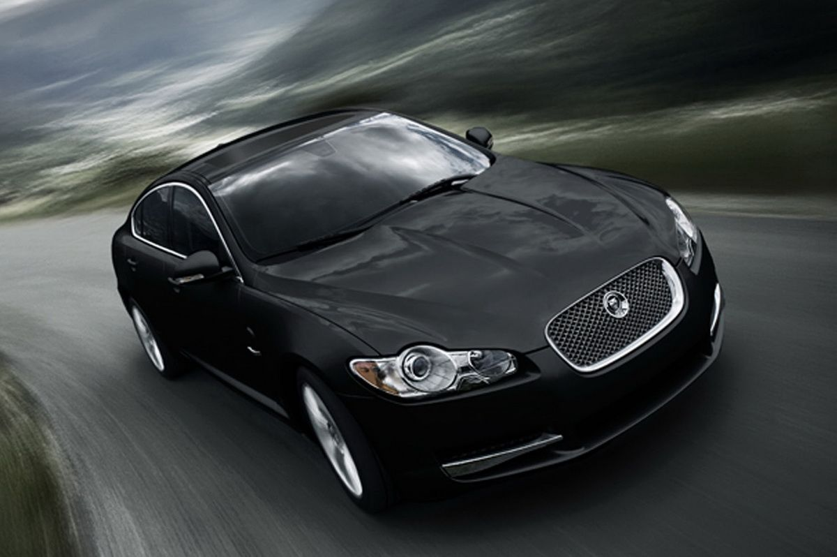 Jaguar Car Wallpapers Wide Car Jaguar Xf Jaguar 2017 Black