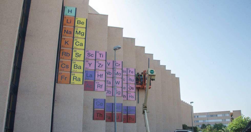 tabla periódica se asoma a una nueva fila por primera vez en la historia - new ver una tabla periodica completa