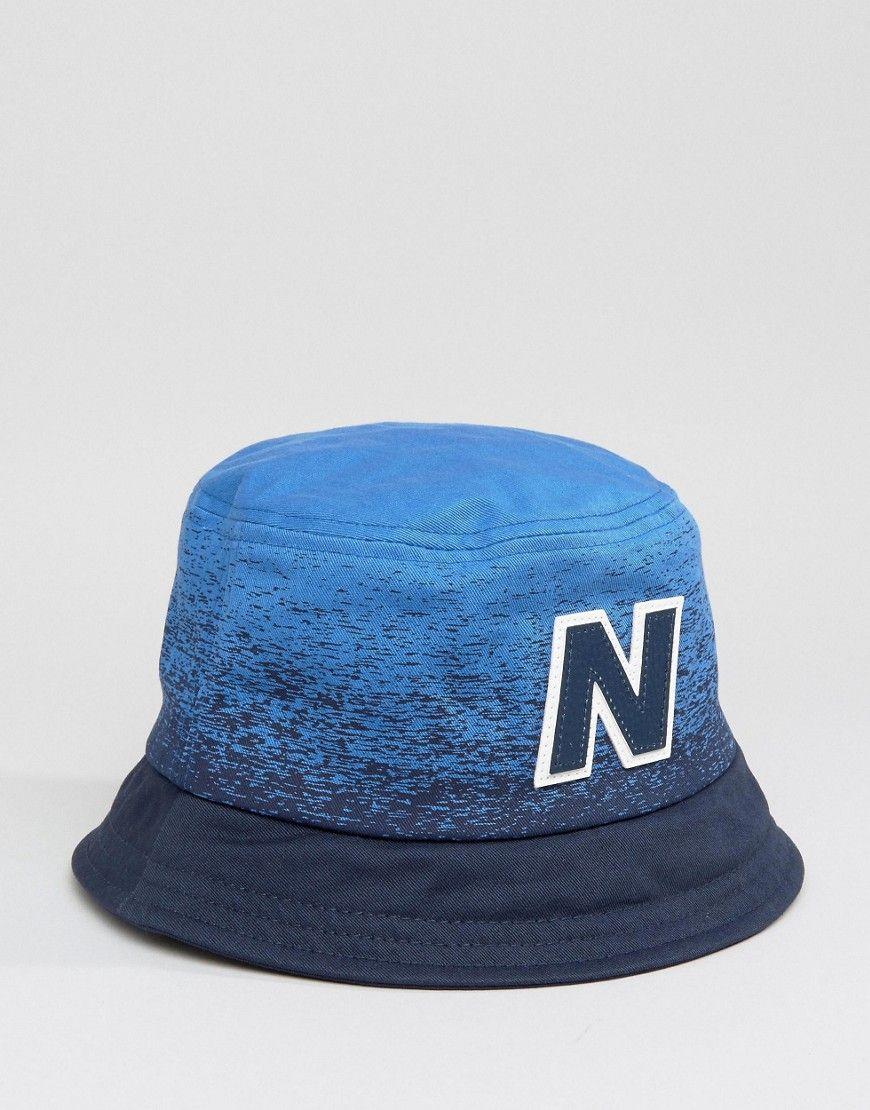 New Balance Graduated Bucket Hat In Navy  99cf0176888
