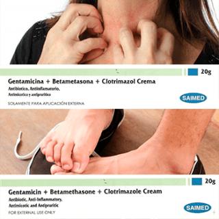 que específico contiene betametasona clotrimazol gentamicina