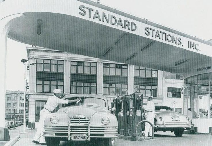 Garages and Gas Stations Remember when they pumped your