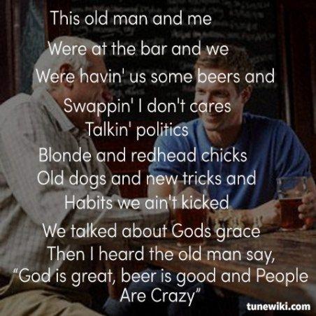 Crazy Chicks Lyrics
