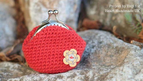 How To Crochet A Coin Purse – A Free Pdf Pattern