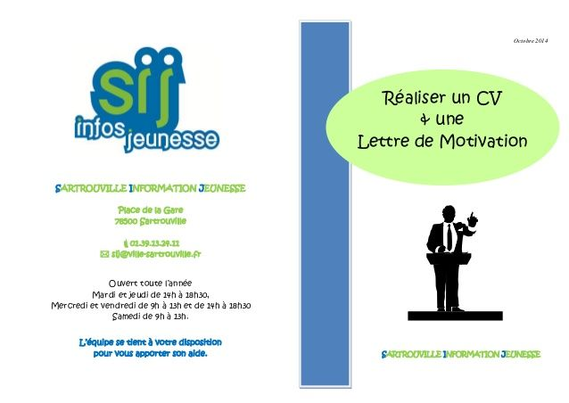 faire son cv et sa lettre de motivation