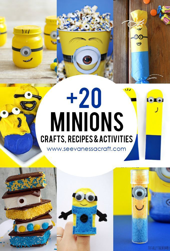 Minion Crafts Part - 17: +20 Minions Crafts, Recipes And Activities