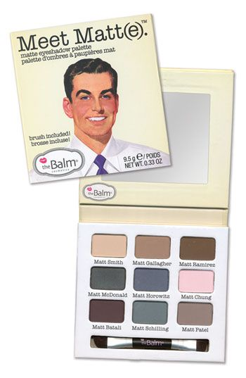 theBalm 'Meet Matt(e)™' Eyeshadow Palette available at #Nordstrom