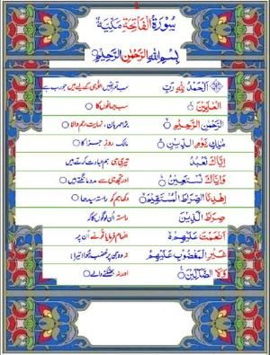 Tajweed Quran with English meanings Transliteration.