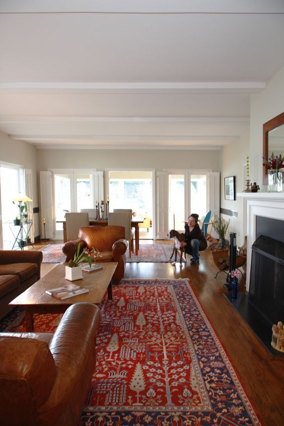 Image Result For Living Room Dark Wood Persian Rug Main Living