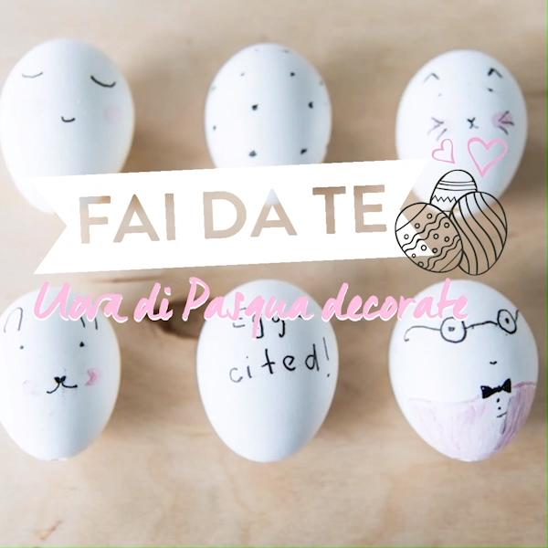 Fai da Te 🐰 Uova di Pasqua decorate
