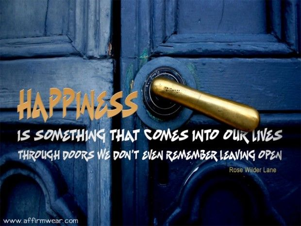 Life quotes  the key of happyness open it and be happy a positive pictures and quotes