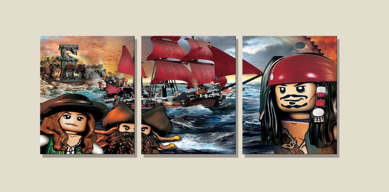 Pirates of the Caribbean. Caribbean art prints
