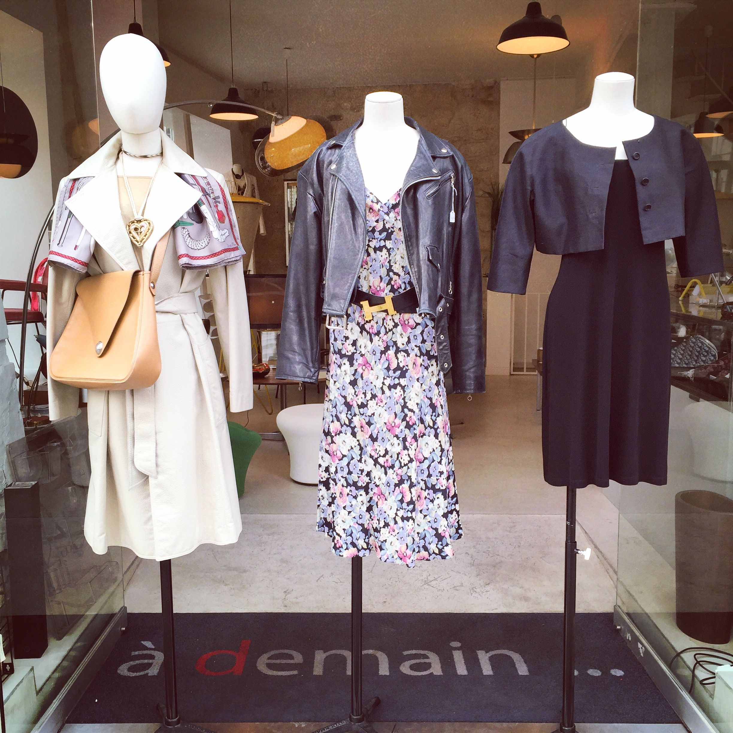 new vintage fashion items at the shop!