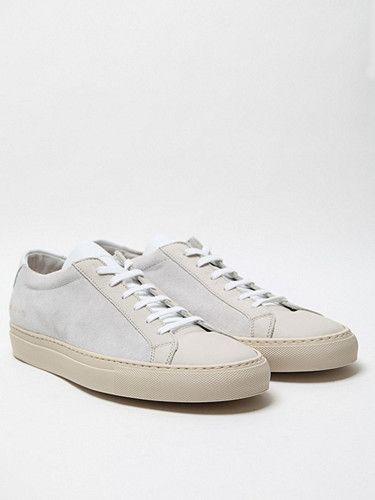 2012.06.12. Common Projects - Vintage Low Sneaker, seen here in off white.