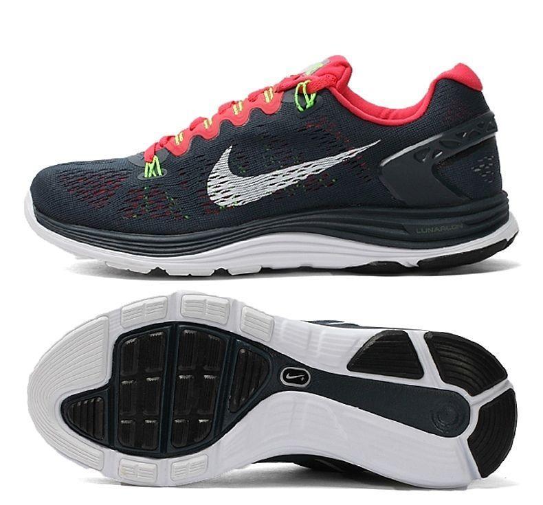 4124a388d6b8  129 NWT Women s Nike Lunarglide +5 Running Shoes 599395-416 ...