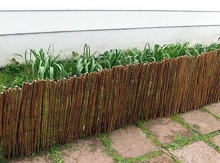 Rolled Willow Border $18.21 For 14u0027 Http://www.mastergardenproducts.com