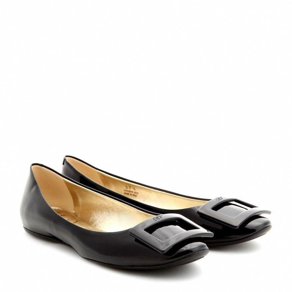 2a70c277936a Roger Vivier - Gommette patent-leather ballerinas - Ballerinas - Shoes -  Luxury Fashion for Women   Designer clothing
