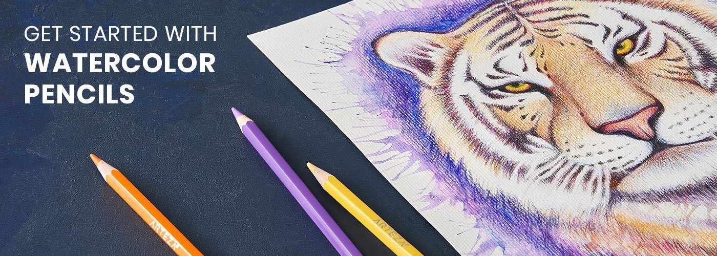 Learn How To Use Watercolor Pencils In 2020 Watercolor Pencils