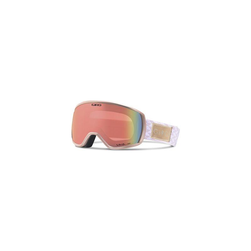 Giro Facet rose gold shimmer vivid infrared | Goggles | Brillen ...