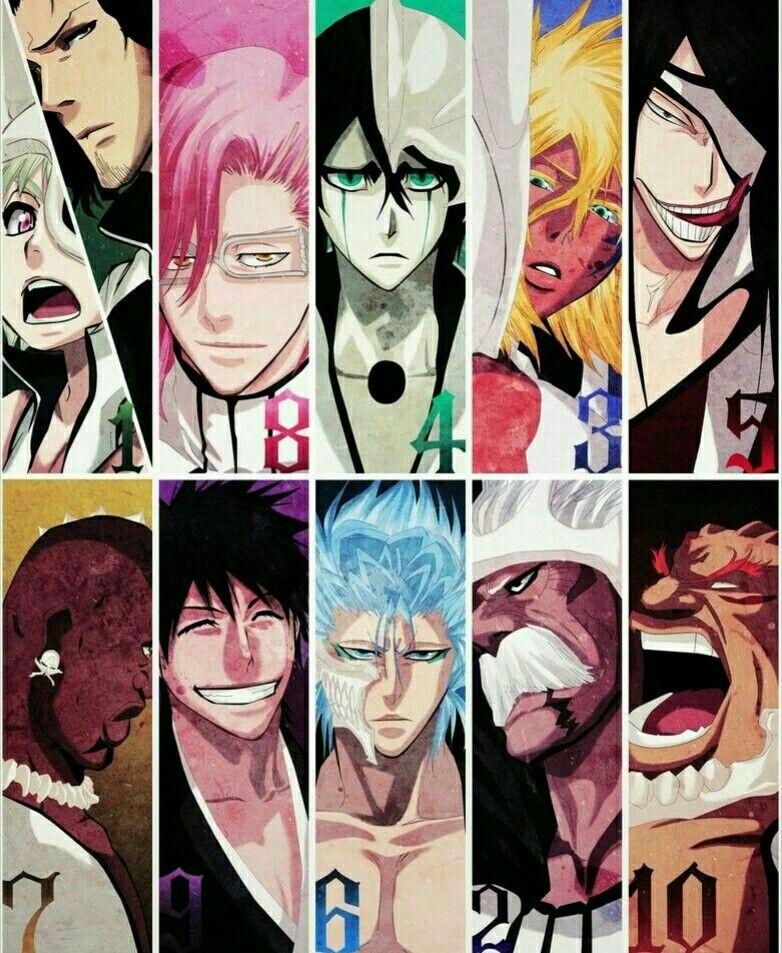 Los espadas bleach bleach bleach manga bleach - Bleach espadas ...