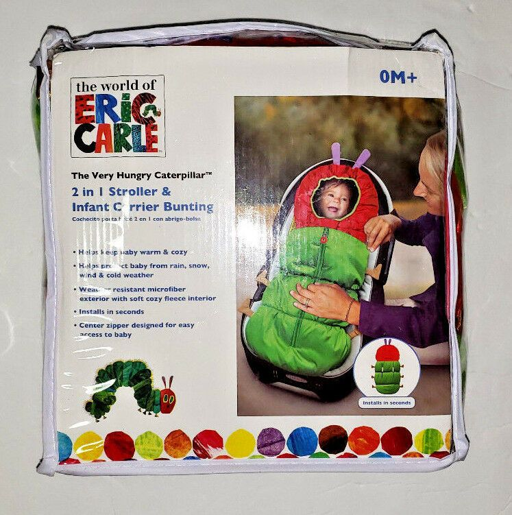 Eric Carle The Very Hungry Caterpillar 2in1 Stroller